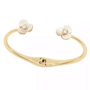 KATE SPADE • Disco Pansy Cuff Bracelet